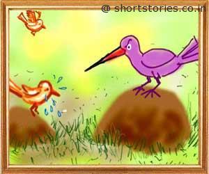 elephant-sparrow-panchatantra-tales-shortstoriescoin-image2