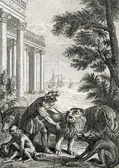 Jean de La Fontaine Fables - Book 12 - Fable 1