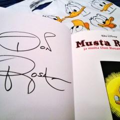 Don Rosa signature