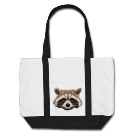Rocket Pattern Tote Bag