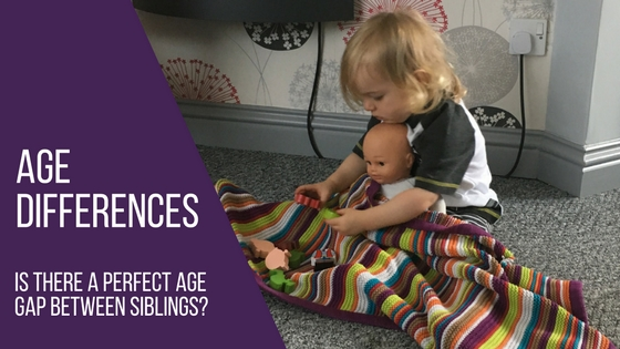 Age differences - age gap between siblings blog title