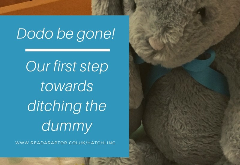Dummy be gone – our first step to ditching the dodo