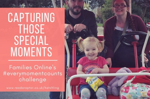 featured image of Caputring those special moments for Families Online's EveryMomentCounts challenge post