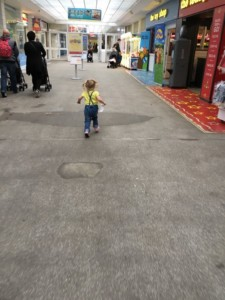 Skyline Pavilion exploring at Butlin's Just For Tots in Minehead