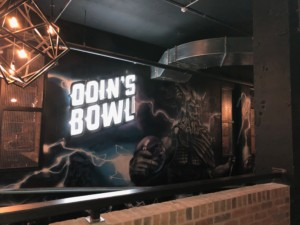 Odin's bowling within Level in the Guild Hall, Preston