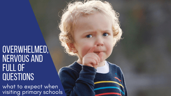 What to expect when visiting primary schools in your area