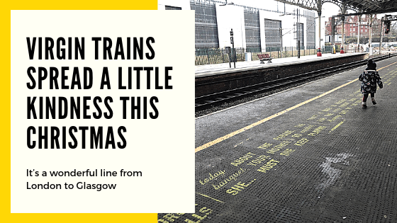 Rethink Mental Illness and Virgin Trains team up for Christmas Kindness campaign