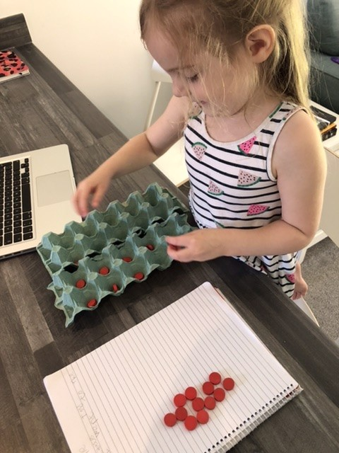 counting with homeschool maths