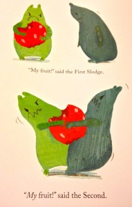 The First Slodge by Jeanne Willis and Jenni Desomnd