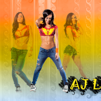 Let's get crazy!!! AJ Lee Wallpaper