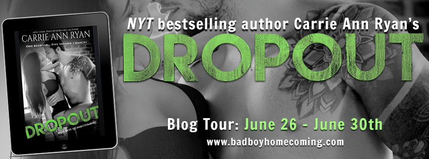 Blog Tour  -  Dropout by Carrie Ann Ryan  -  {Review}