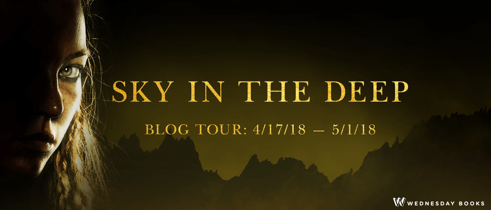 Blog Tour:  Sky in the Deep by Adrienne Young  -  {Author Interview}