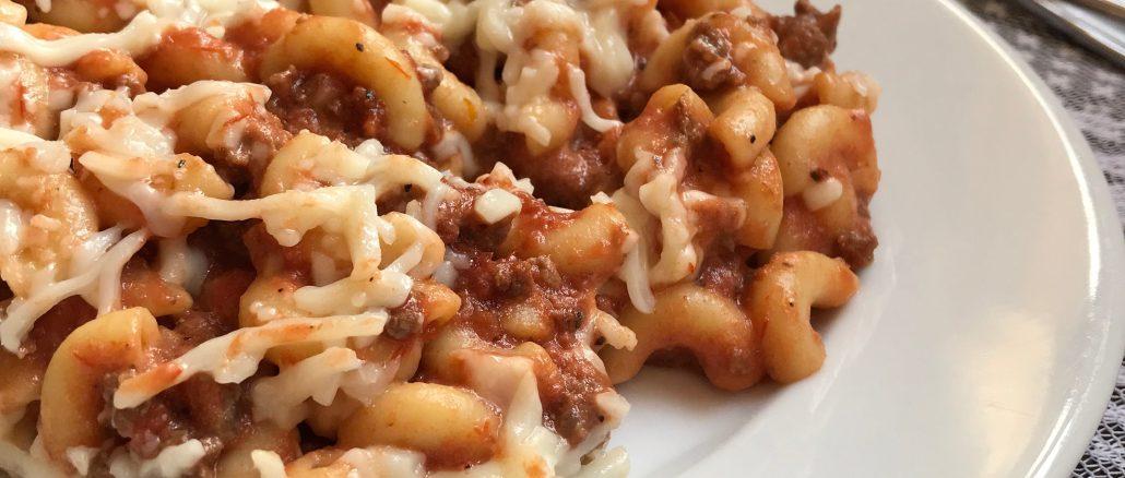 spaghetti macaroni