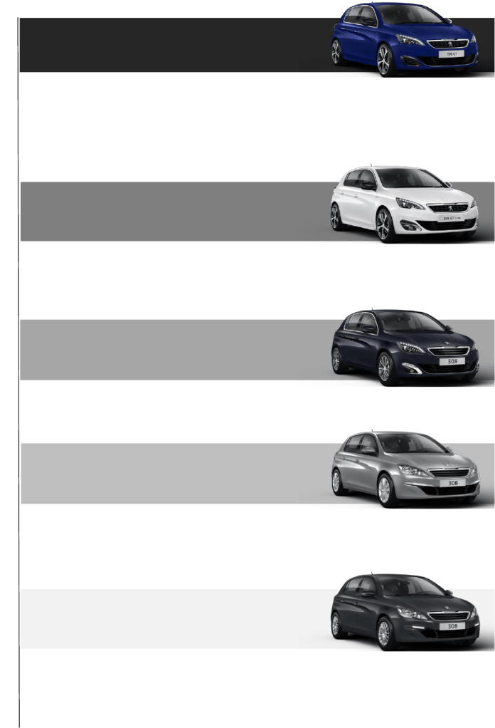 Peugeot 308 Specification Overview Peugeot 308 Hatchback Exterior Features Comfort And Convenience