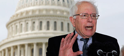 Senator Bernie Sanders (photo: AP)