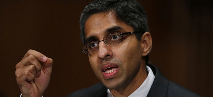Vivek Murthy, the new Surgeon General of the U.S. (photo: AP/Charles Dharapak)