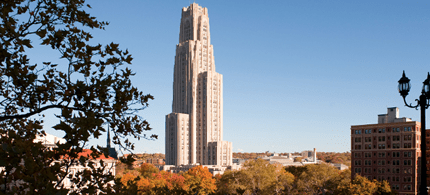 University of Pittsburgh, ranked the most expensive public university in the US according to Department of Education data, 2014. (photo: University of Pittsburgh)
