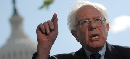 Senator Bernie Sanders. (photo: Getty)