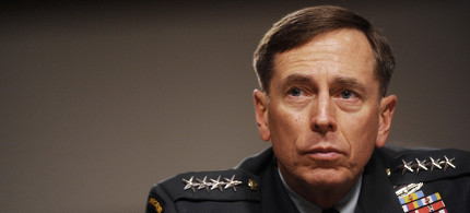 David Petraeus. (photo: Reuters)