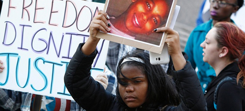 Tamir Rice was 12-years-old when he was shot and killed by police. (photo: David Maxwell/EPA)