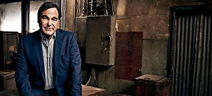 Oliver Stone. (photo: Art Streiber/Sunday Magazine)