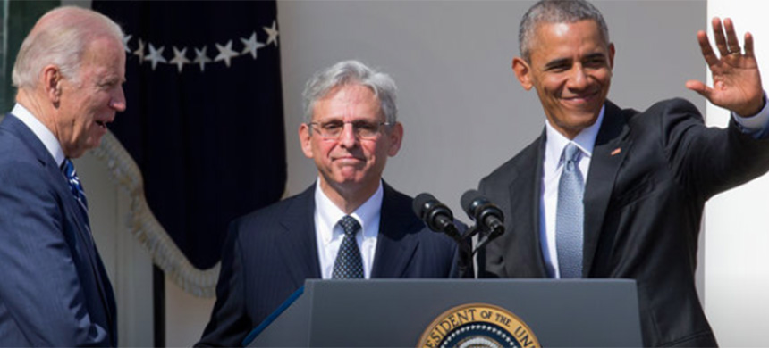 President Obama's Supreme Court nominee spoke at the White House on Wednesday. (photo: AP)