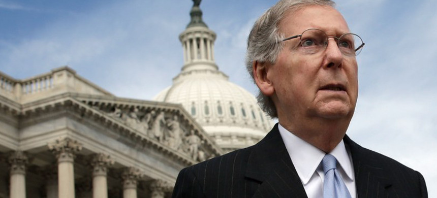 Senator Mitch McConnell. (photo: Win McNamee/Getty)