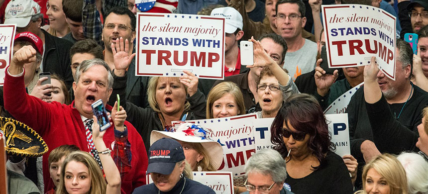 Trump supporters. (photo: Sean Rayford/Getty Images)