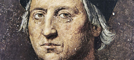 Portrait of Christopher Columbus (Cristobal Colon), of unknown origin, 06/15/10. (art: Unknown)