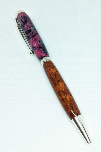 Snakewood and Acrylic Slim Pen 35