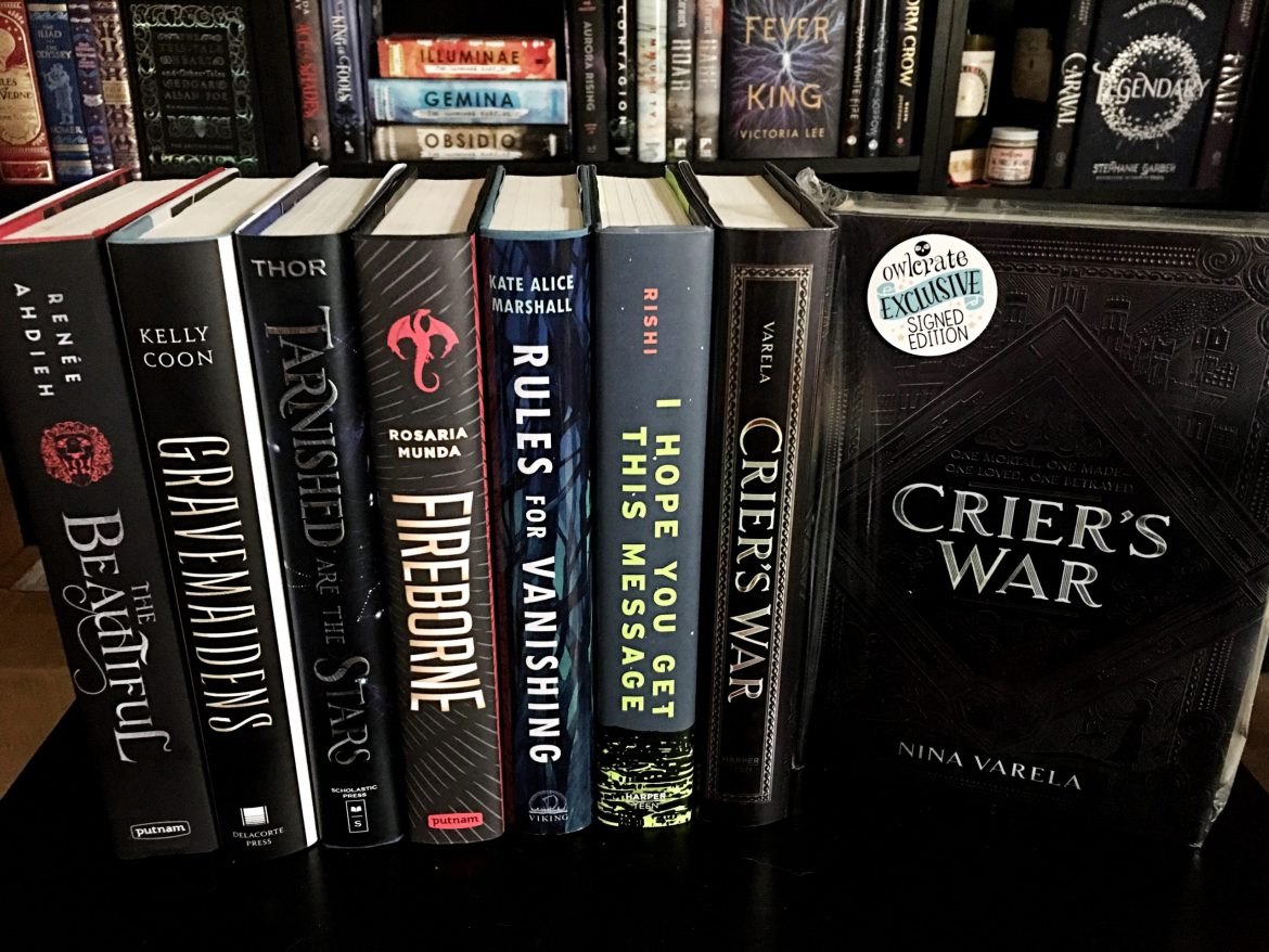 Oct19 Book Haul 2