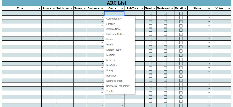 2020 ARC List