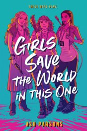 Girls Save the World in This One cover