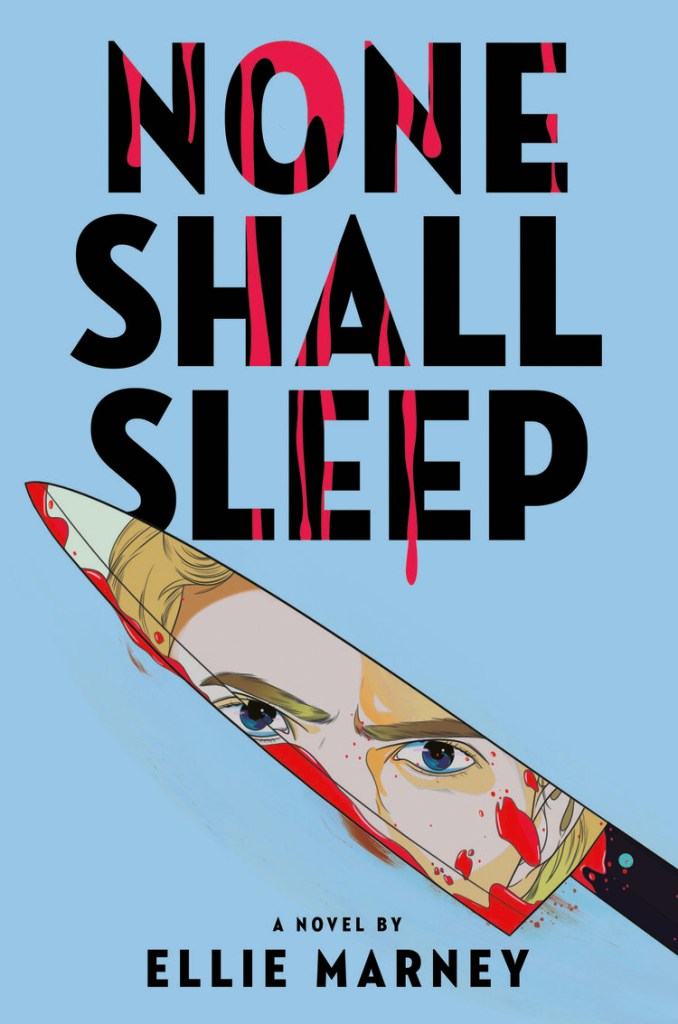 US cover for None Shall Sleep