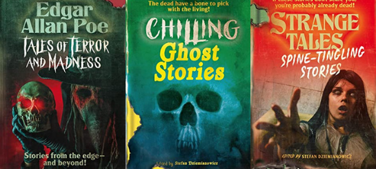 Tales of Terror, Chilling Ghost Stories, Spine-Tingling Stories