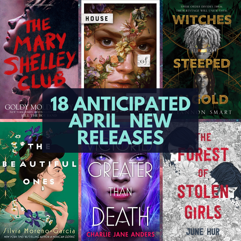 18 New April Releases