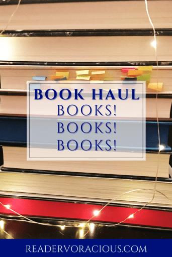 It's a book haul