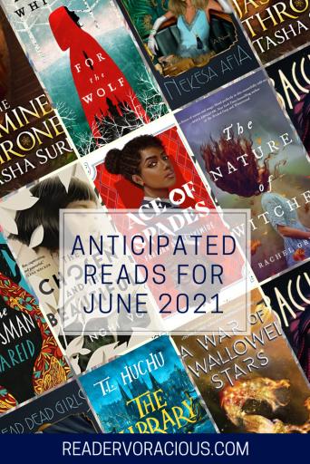 June 2021 anticipated reads