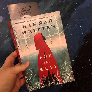 paperback copy of For thr Wolf