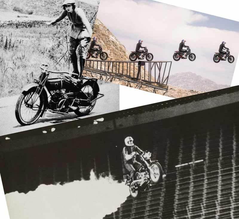 motorcycle tricks