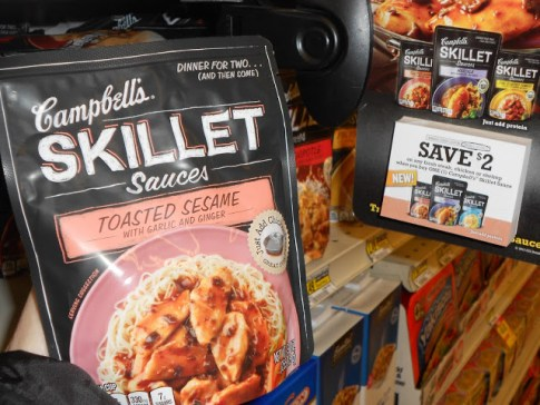 Campbell's Skillet Sauces Pic