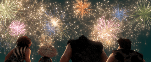 The Croods Fireworks
