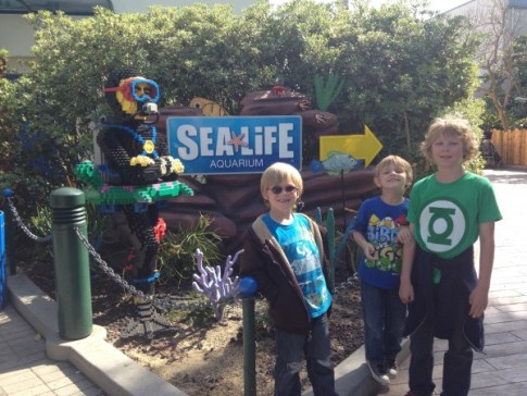 Legoland Sea Life Aquarium
