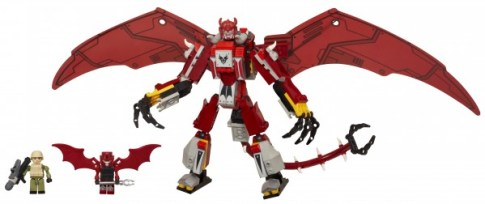 KRE-O TRANSFORMERS RIPCLAW STRIKE Set - Robot Mode