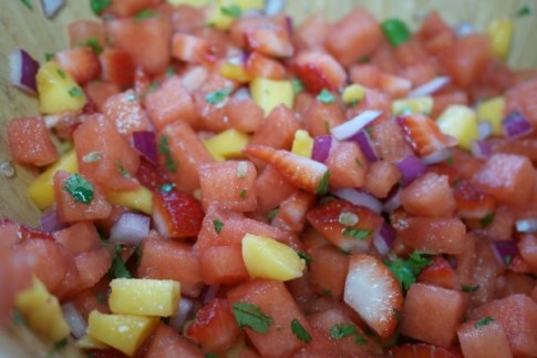 Lucky Watermelon Salsa Recipe 2