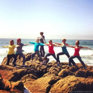Yoga at Leffingwell Landing in Cambria