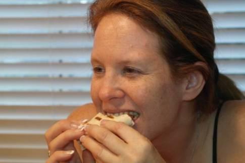 Cheesy Chicken Bacon Wrap Recipe 9