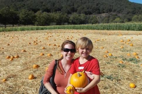 Avila Barn Pumpkins & Hay