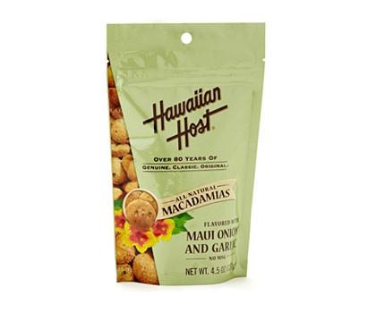 Hawaiian Host Onion and Garlic Macadamia Nuts
