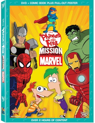 Phineas And Ferb Mission MarvelDVD